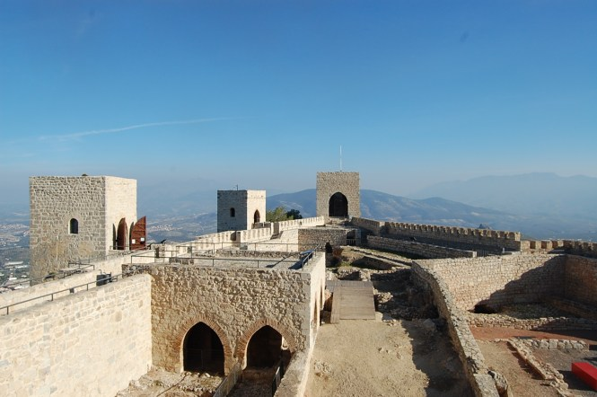 castle in Jaén