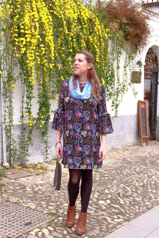 Sfera floral dress