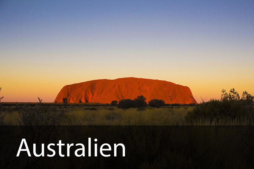 rejseinspiration til Australien