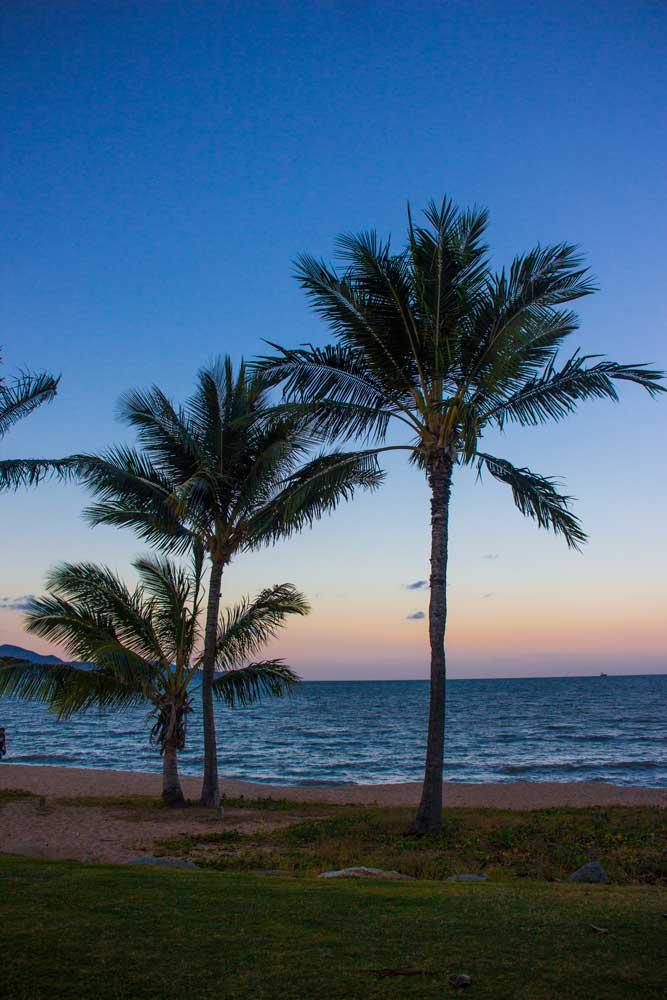 Det bedste punkt at se en solnedgang i Townsville