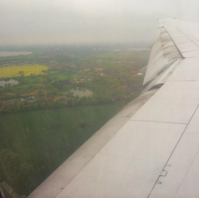 Contiki European Vista London Plane
