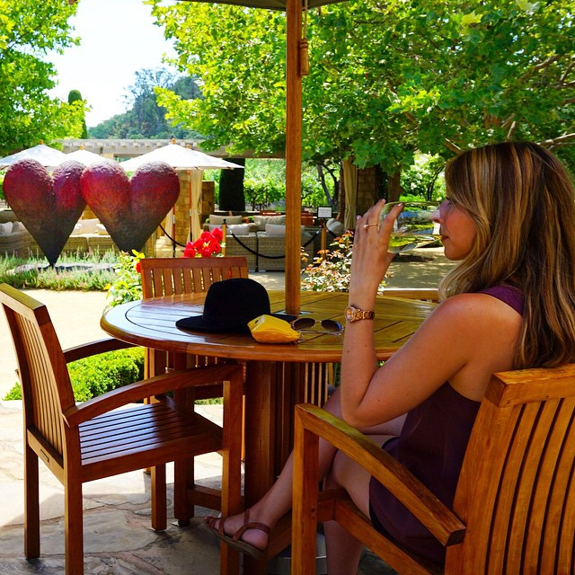 Whoever said diamonds are a girl's best friend hasn't tasted wine. #winetasting #winecountry #napavalley #takeanapa #travel #wanderlust