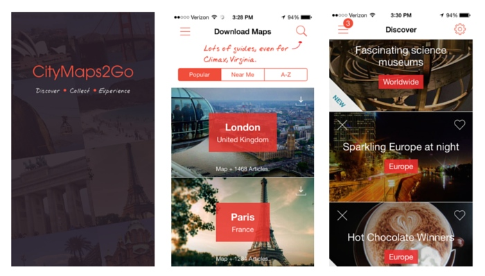 Apps to Download Before an International Trip_CityMaps2Go