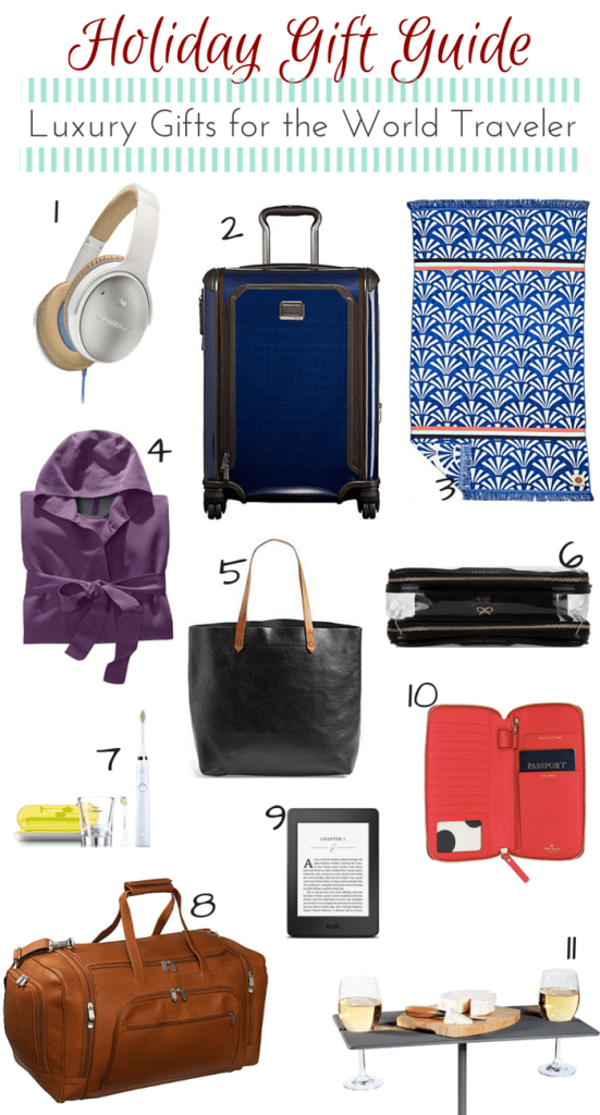 Holiday Gift Guide_Luxury Gifts for the World Traveler_Pinterest Image