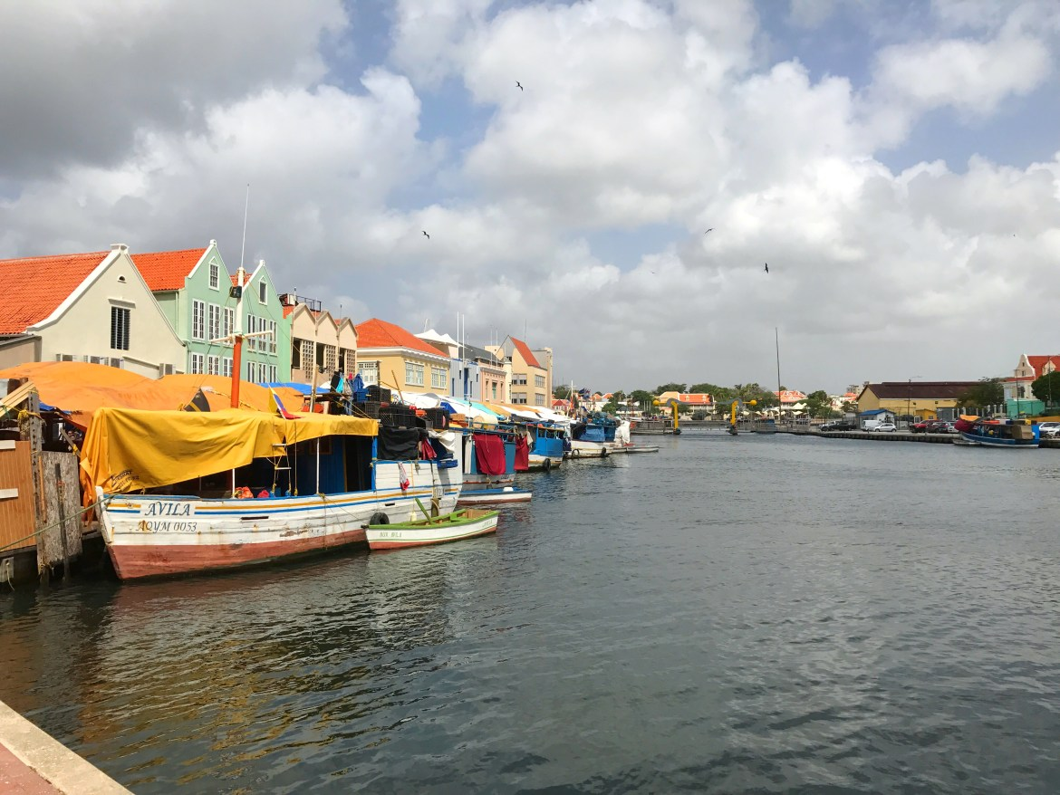Floating Marketing in Willemstad, Curaçao