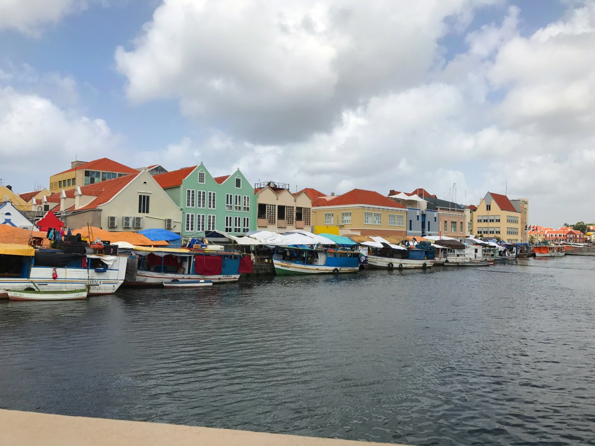 Floating Market in Willemstad, Curaçao