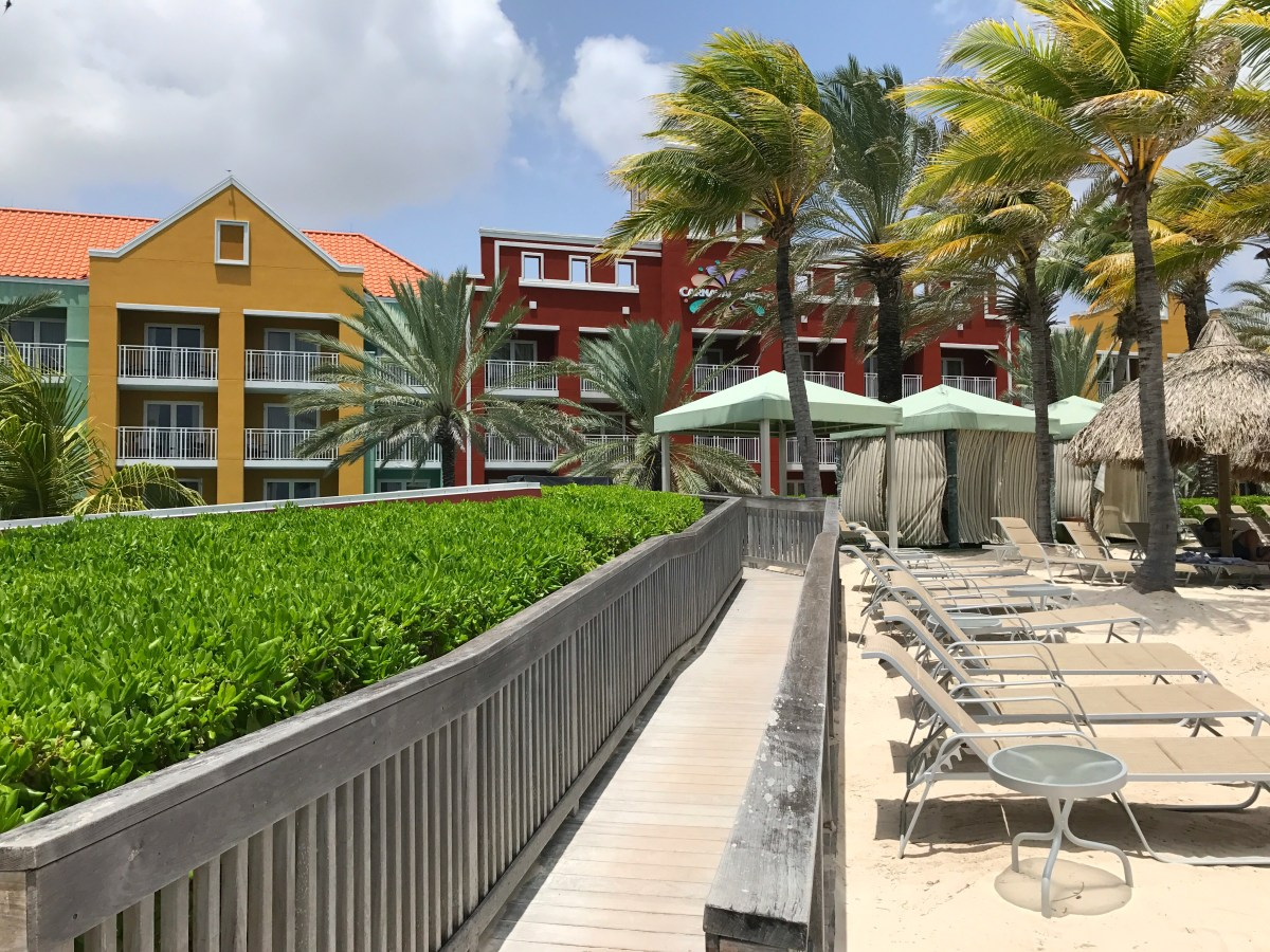 Renaissance Hotel at Rif Fort in Willemstad, Curaçao