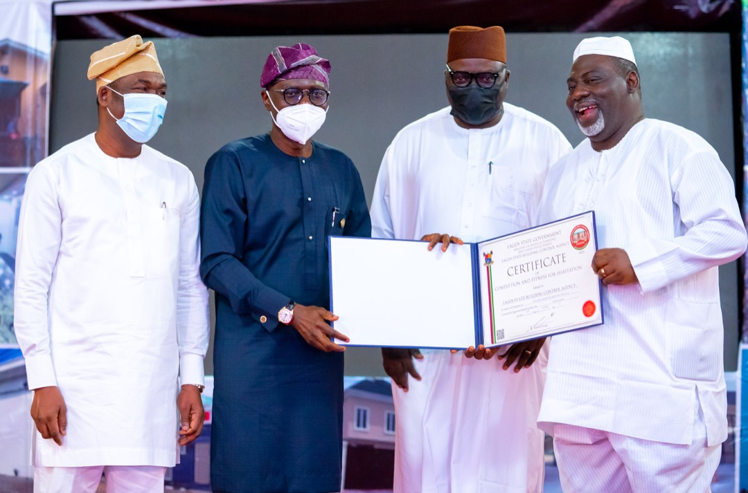 The New Certificate of Completion and Fitness for Habitation introduced by Lagos State