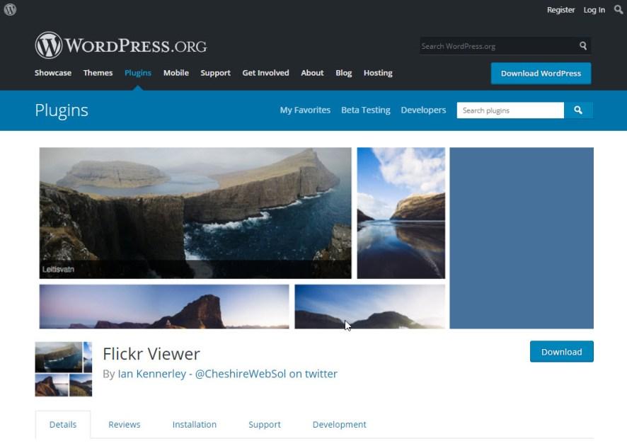 flickr viewer