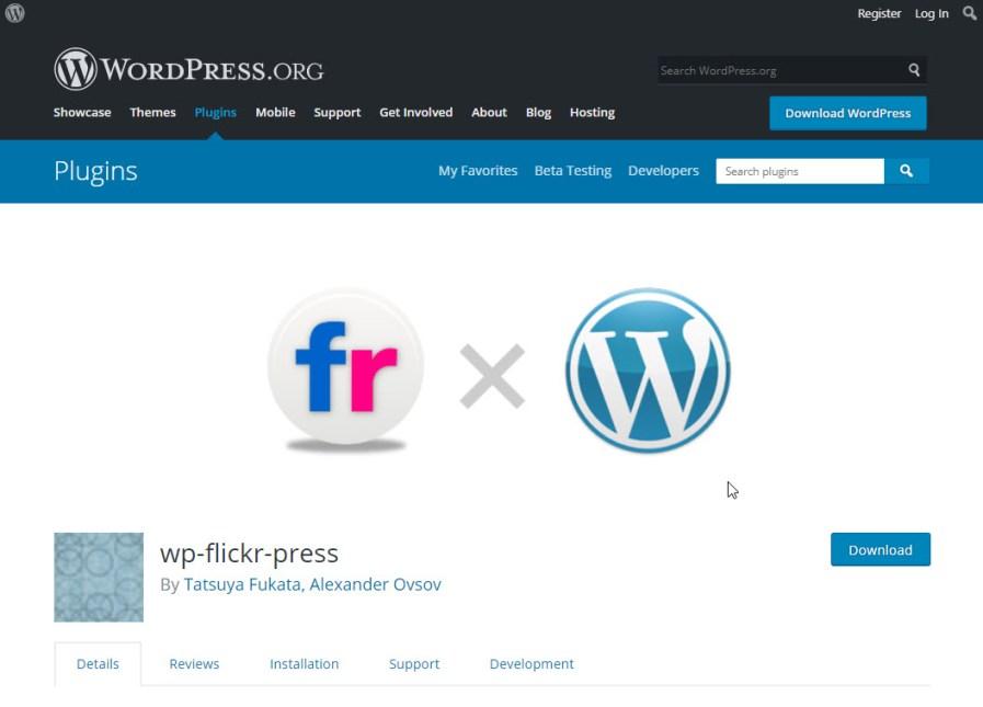 wp flickr press