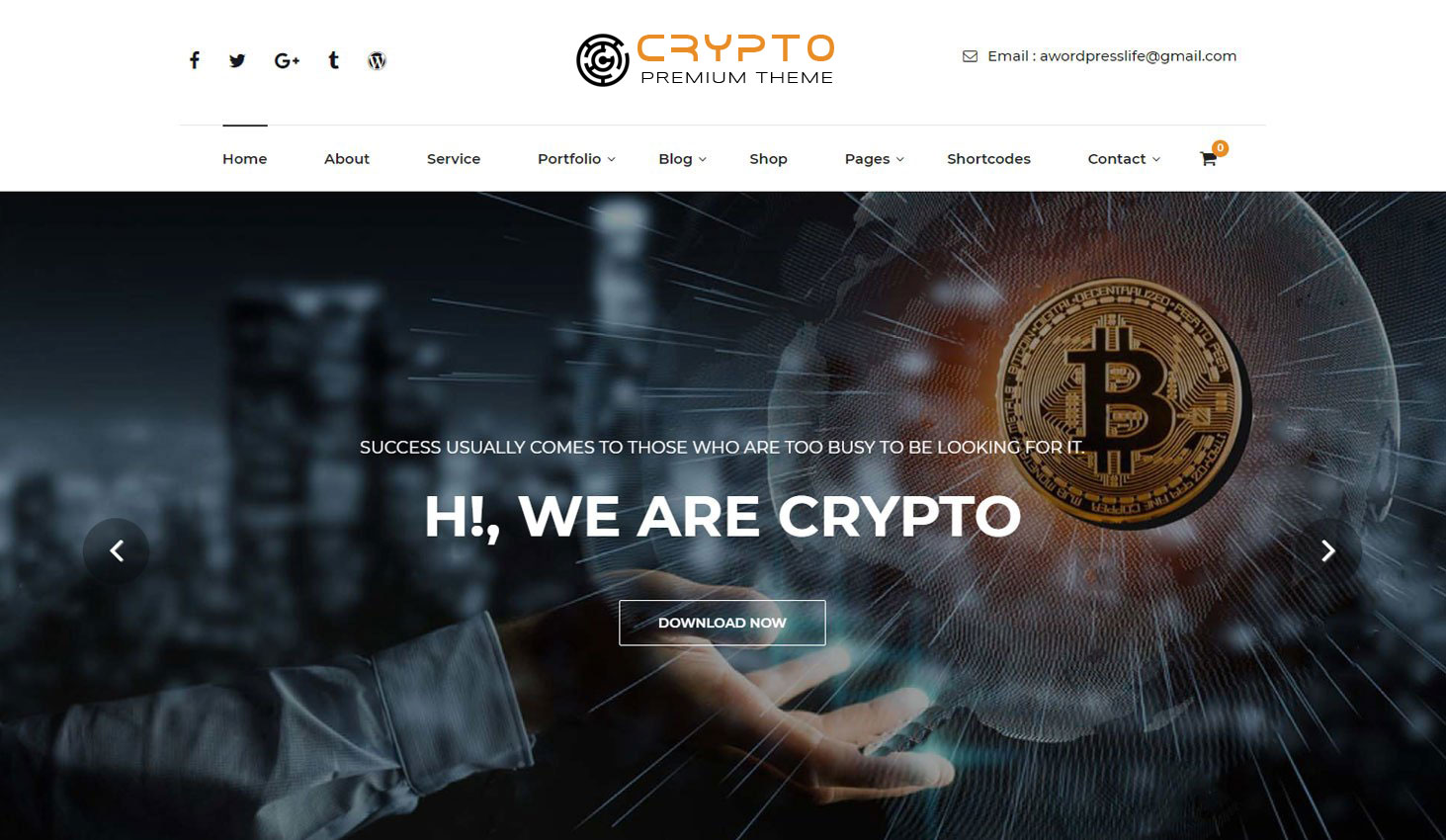 Crypto-Premium-WordPress-Theme-For-Cryptocurrency-Business-and-Blog-Websites-A-WP-Life-Homepage-Template