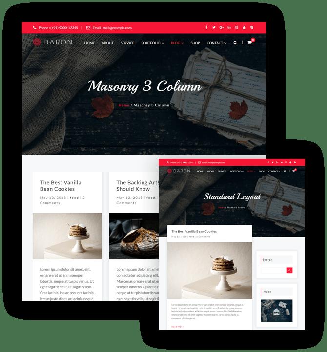 Daron Premium WordPress Theme – Multiple Blog Templates – A WP Life