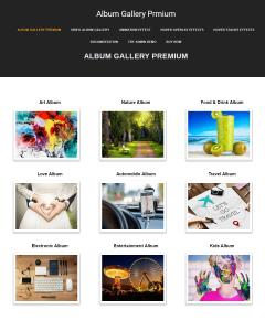 album gallery premium