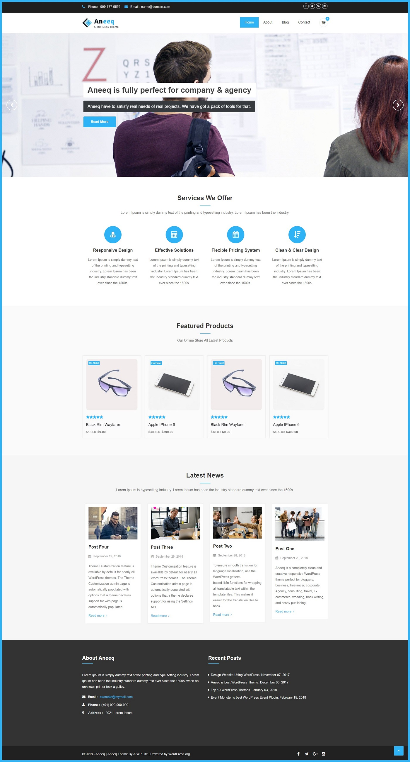 aneeq-wordpress-theme-homepage-final-preview