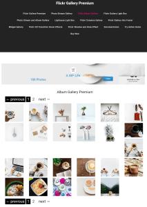 flicker gallery premium