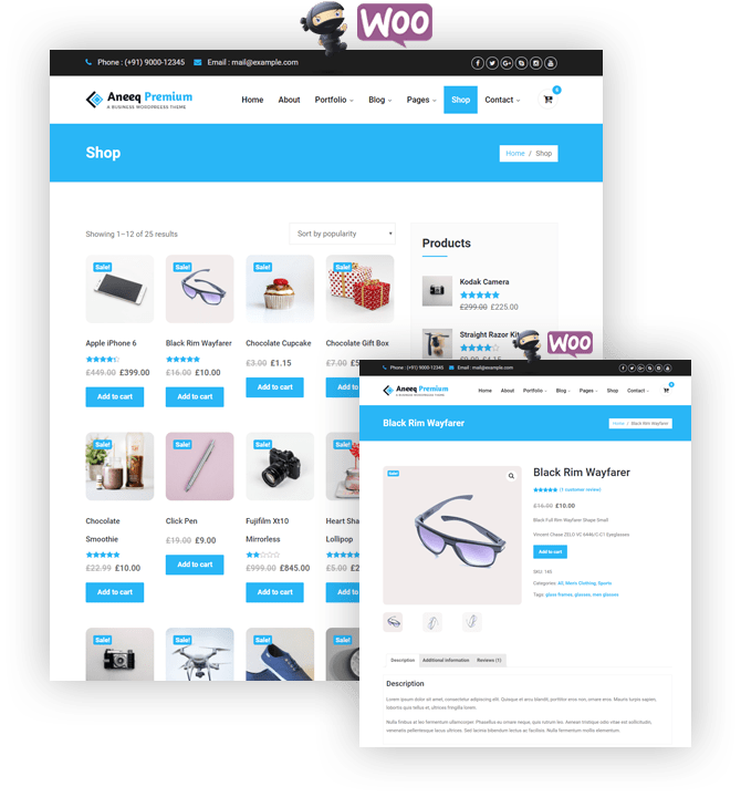 WooCommerce Shop