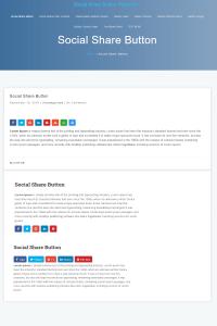 social share button premium