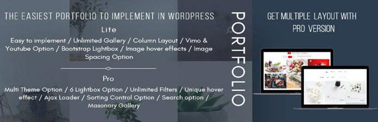 Portfolio – Image Gallery WordPress Plugin