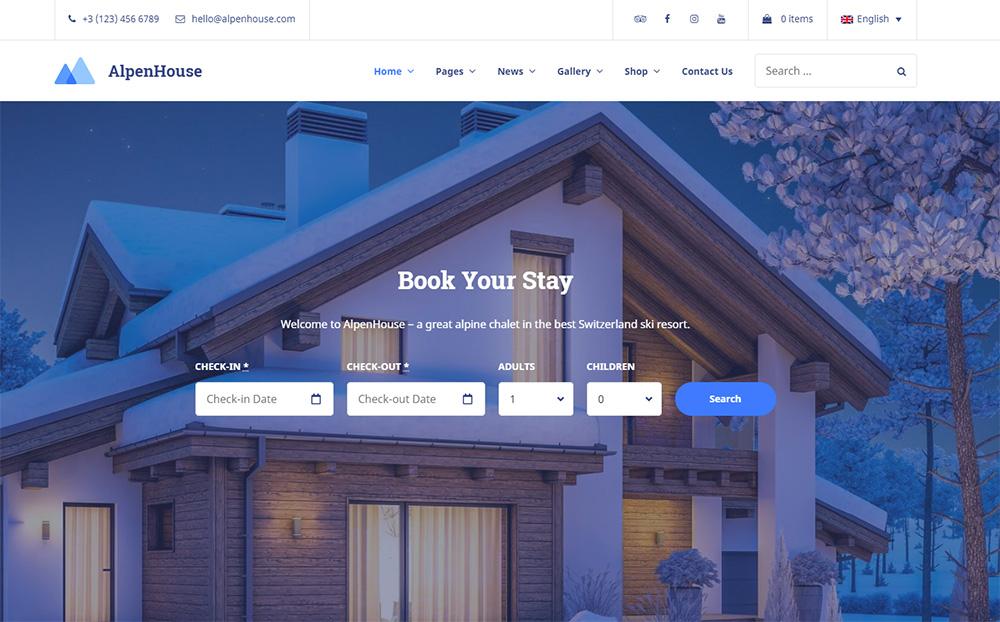 AlpenHouse-Vacation-Rental-WordPress-Theme