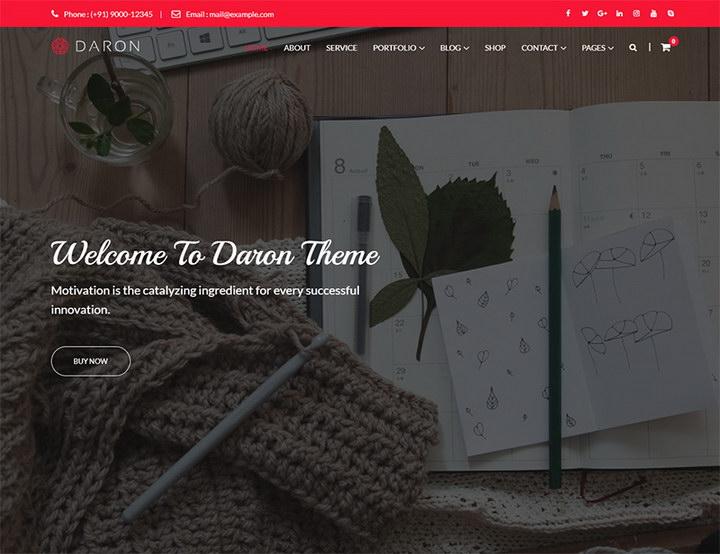 Daron WordPress Theme
