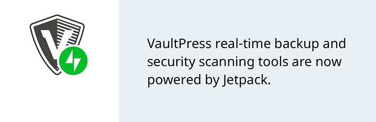 VaulPress Realtime Backup WordPress Plugin