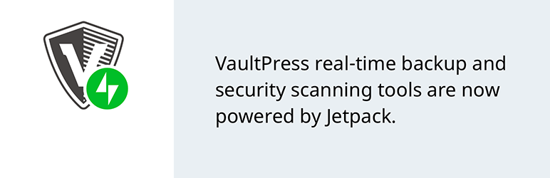 VaulPress Realtime Backup WordPress Plugin