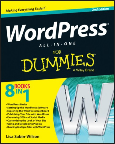 WordPress All in One For Dummies