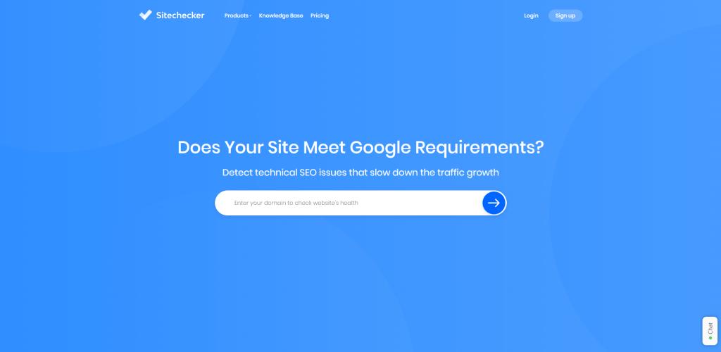 Sitechecker link checker - To Check Broken Links