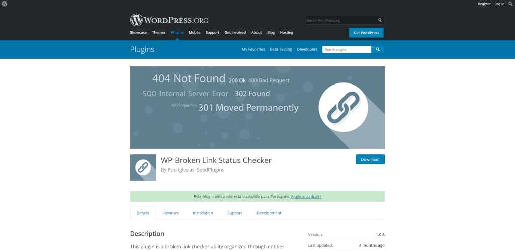 WP Broken Link Status Checker