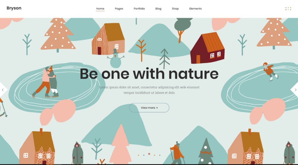 WordPress theme with Slider Revolution plugin