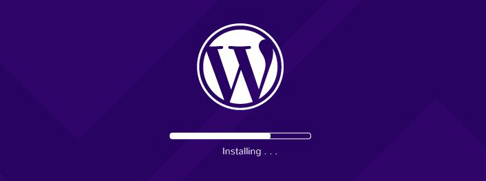 Install WordPress on hosting server