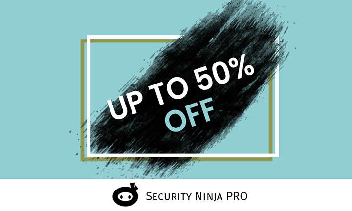 Security Ninja PRO Black Friday Discount Coupon