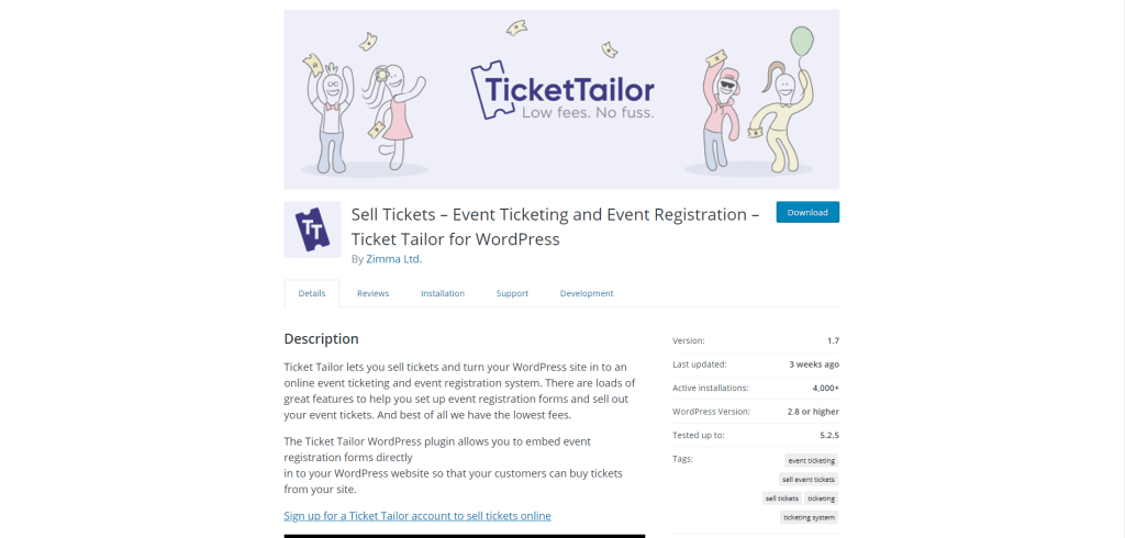 2. Ticket Tailor