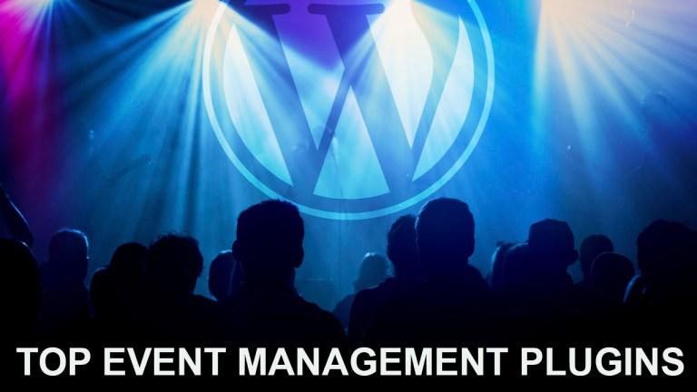 Top 5 Event Management Plugins