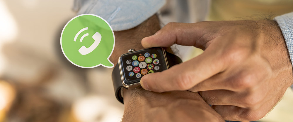 answering call through smartwatch