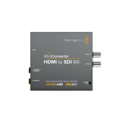 Blackmagic Design HDMI to SDI 6G Mini Converter uncategorized Black Magic