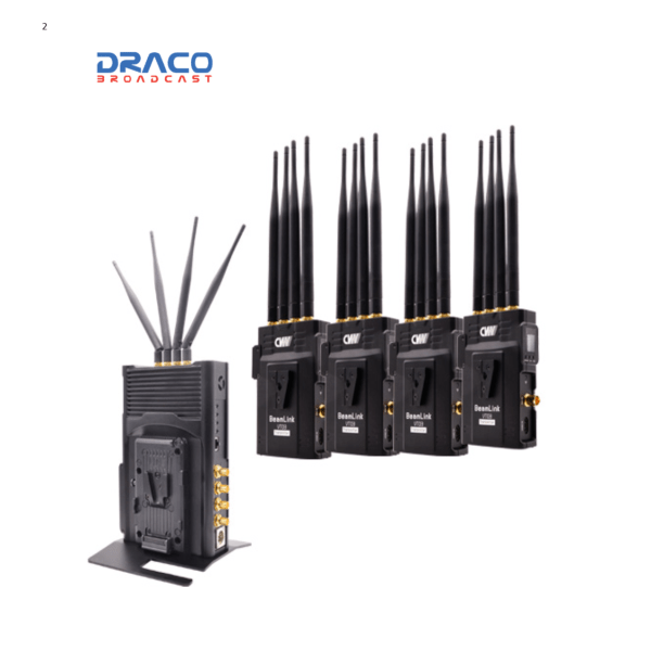 Beamlink Quad 4-channel Full-HD Video Wireless Transmission Pro Video Draco Broadcast