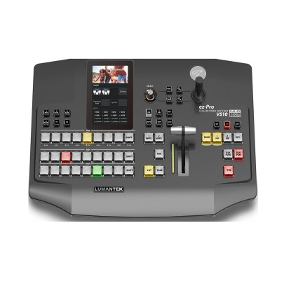 Lumantek 10 x 1 Video Switcher for 3G-SDI and HDMI with 5.0″ LED Touchscreen Featured Products Lumantek