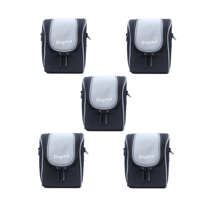 Solibag Durable Camera Case, Black -4004-2321 Pack Of 5Pcs Camcorder & Camera Accessories Camera Bags