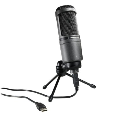 Audio-Technica AT2020USB – Condenser Microphone with USB Connection Pro Audio audio