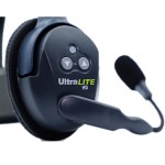 Eartec Ultralite HD 2 Person System W/ 2 Double Headsets, Batteries, Charger & Case Intercom Systems Eartec