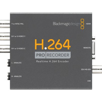 Blackmagic Design H.264 PRO Recorder Pro Video Black Magic
