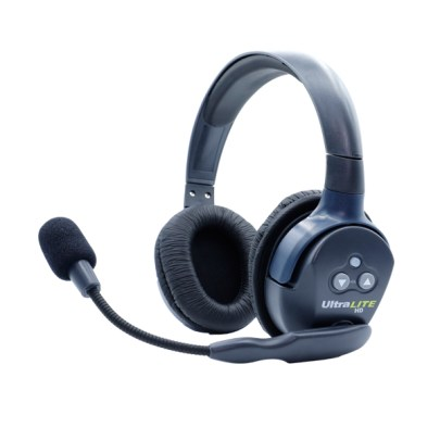 Eartec Ultralite HD  Double Master Headset  W/ Rechargable Lithium  Battery Intercom Systems Eartec