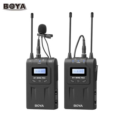 BOYA BY-WM8 Pro-K1 UHF Dual-Channel Wireless Lavalier System Pro Audio audio