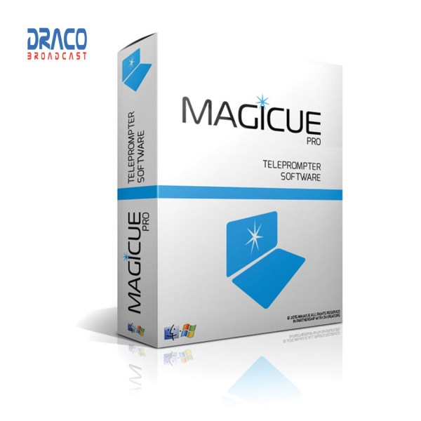 Magicue Pro Software for Studio & Presidential Prompters – PC Version Pro Video All Accessories & Cable