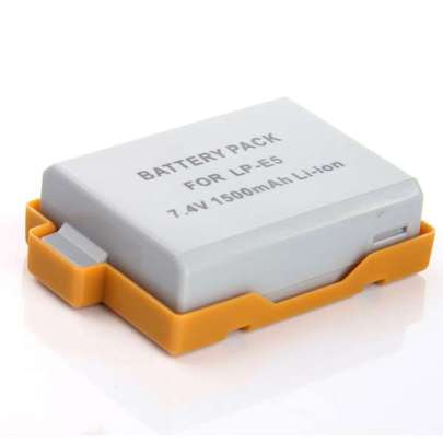 Promage Battery For Canon LP-E5 Battery And Charger Battery And Charger