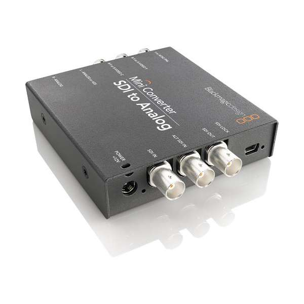 Blackmagic Design Mini Converter SDI to Analog CONVMASA Pro Video Black Magic