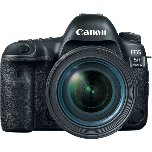 Canon EOS 5D Mark IV DSLR Camera with 24-70mm f/4L Lens DSLR Cameras Canon