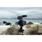 Saramonic Vmic Recorder Microphone with LCD monitor for DSLR Camera/Camcorder Audio audio