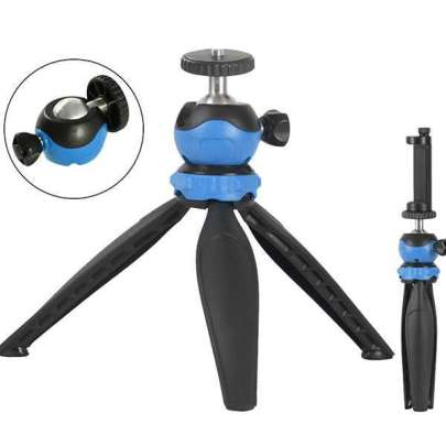 Promage 5 In 1 Mini Adjustable Tripod With Ball Head Pro Video Photography